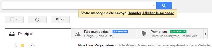Anuler-Gmail