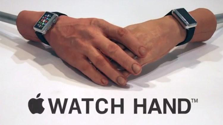 The Apple Watch Hand - CONAN