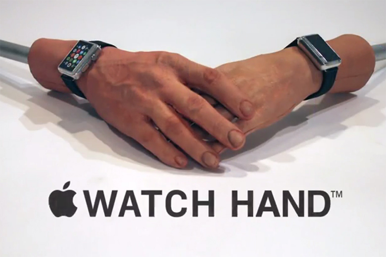 The Apple Watch Hand - CONAN