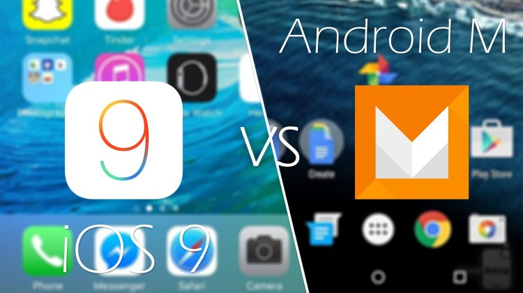 Android-M-Marshmallow-vs-iOS-9