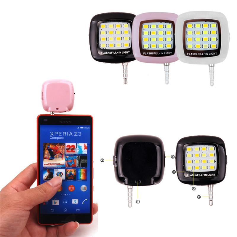 External-Flash-Fill-Light-Selfie-Mini-Portable-16-LED-Spotlight-smartphone-led-flash-fill-light-for