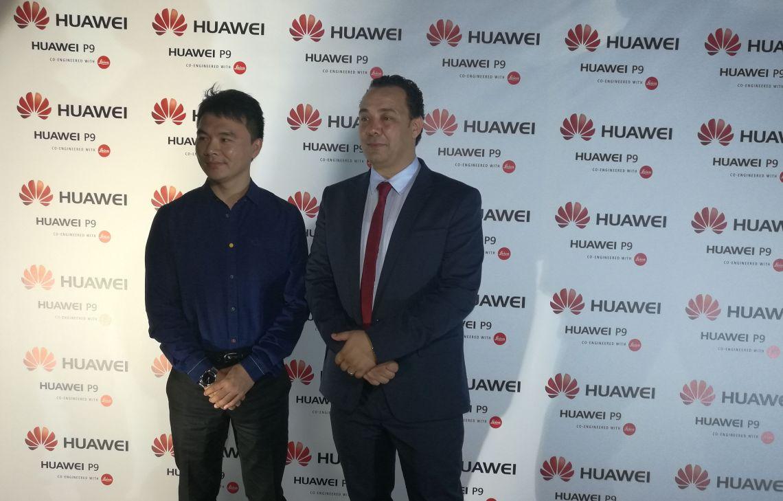 Mr kalvin Yung, Directeur Exécutif de Huawei Tunisie ; Mr Ramzi Ferchichi, Directeur Marketing de Huawei Tunisie