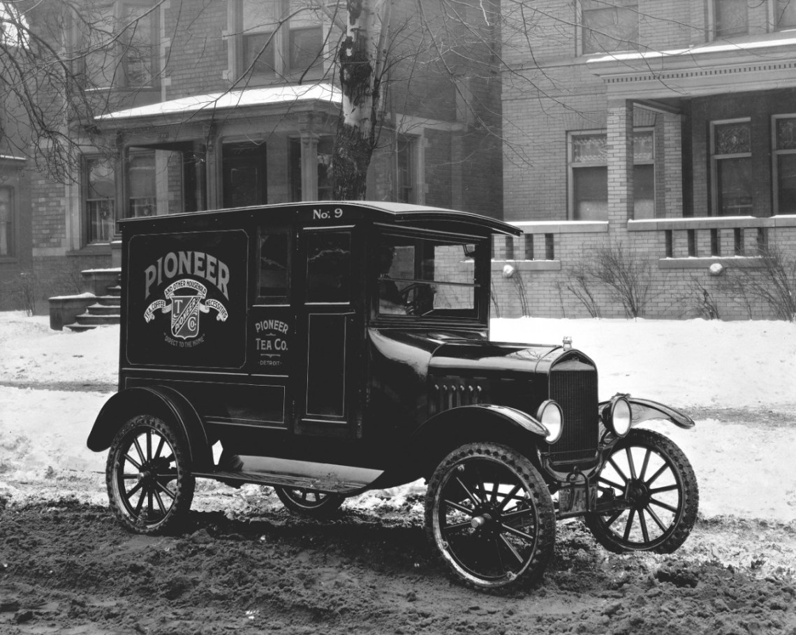 1920 Ford Model TT Panel Delivery truck