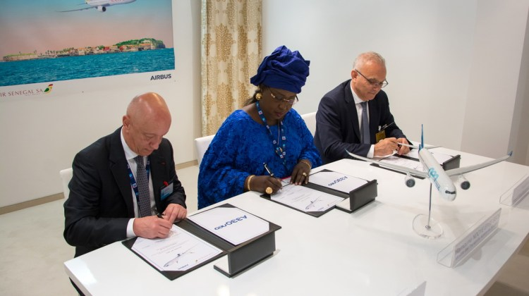 Airbus Signature FLTR - Bohn, Ndoye Seck, Attar