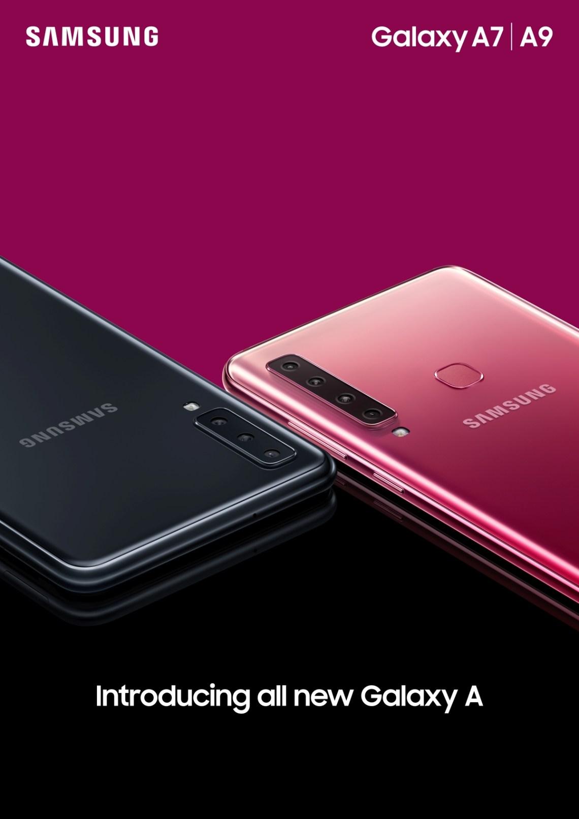 Galaxy A7_Black_A9_Bubblegum Pink_Combo