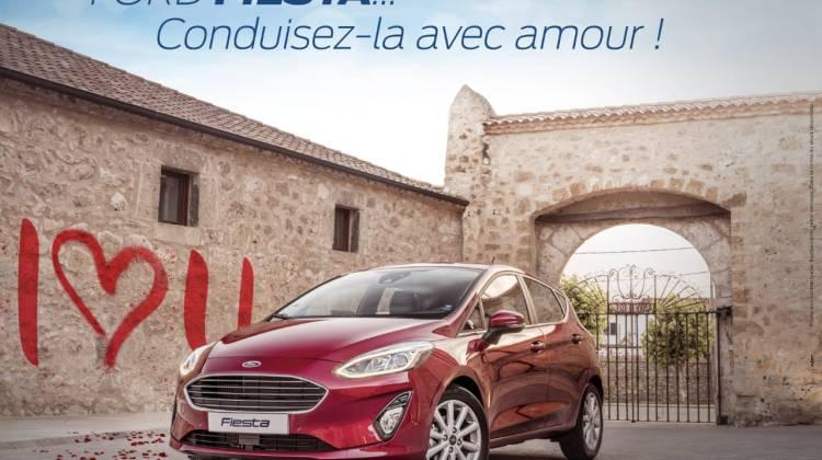 Ford Fiesta à conduire avec amour(1)