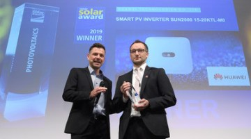 Huawei Wins Intersolar AWARD at Intersolar 2019