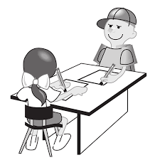 a student having history tuition