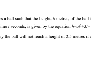 photo a-math -quadratic equation- prove negative discriminant