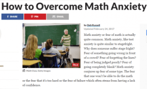 photo how to overcome math anxiety