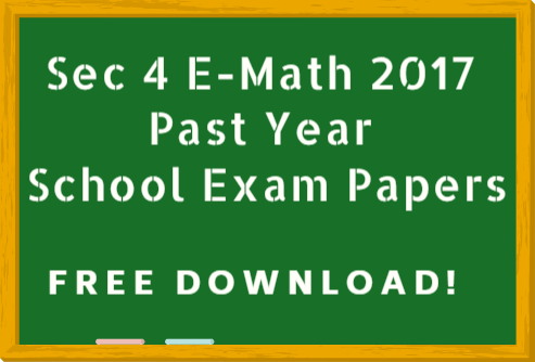 emath past year school exam paper - free download