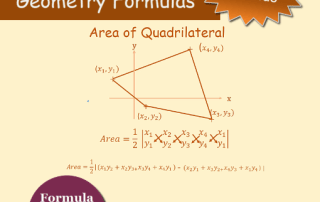 additional math video - 30 seconds revision on the 5 coordinate geometry formulas