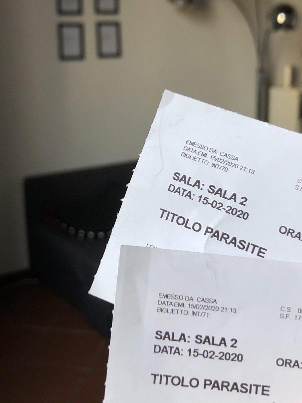 biglietti parasite