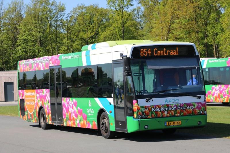 Keukenhof Express bus combi tickets