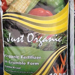 Just organic Crumble Fertilizer 10kg