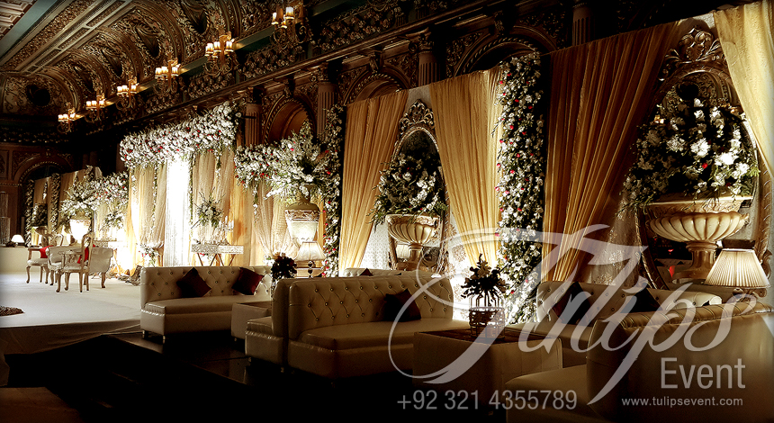 The Best Wedding Stage Decorator In Lahore Pakistan Tulips Events
