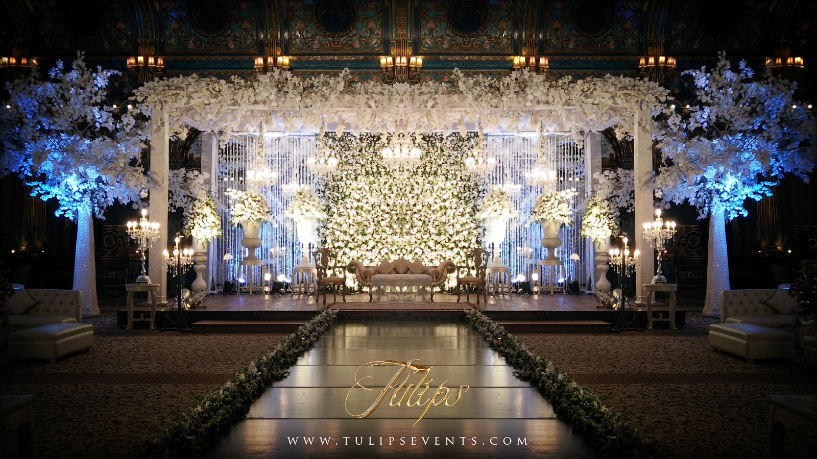 Top Wedding Stages Of 2016 By Tulips Events Management In