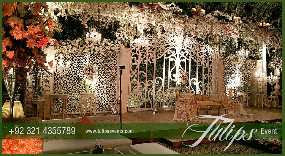 Fairy Wedding Gate Stage Decoration Ideas In Pakistan