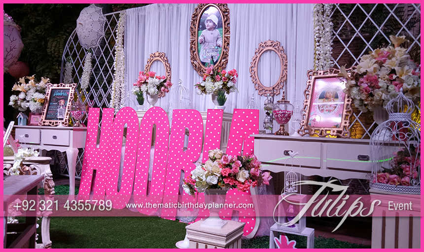 Enchanted Garden Theme Party Decorations In Pakistan