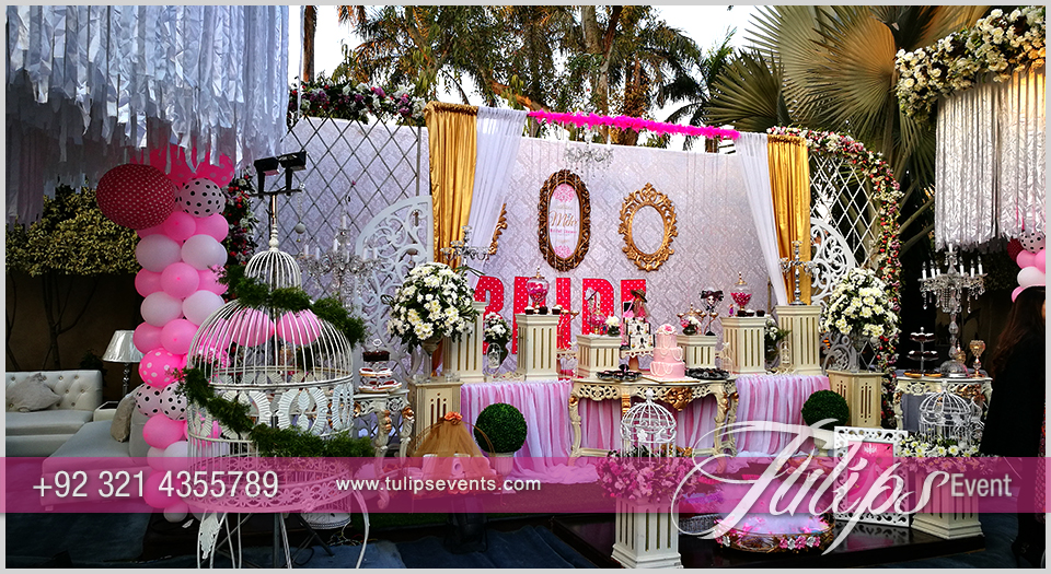 Bridal Shower Theme Party Ideas In Pakistan Tulips Event