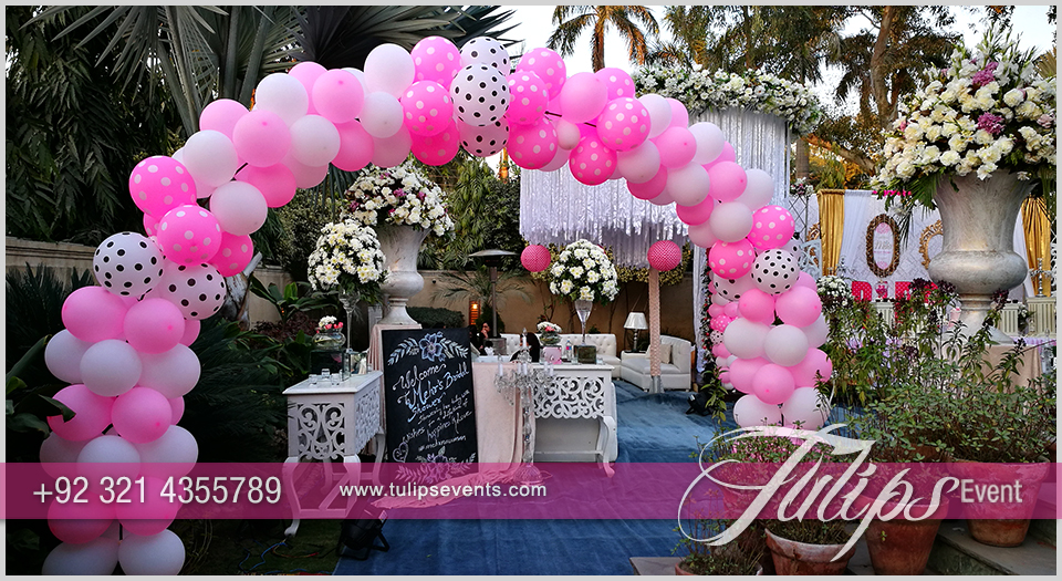 Bridal Shower Theme Party ideas in Pakistan