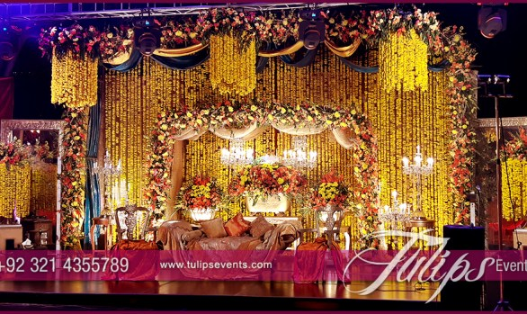 Sangeet Night Theme Stage