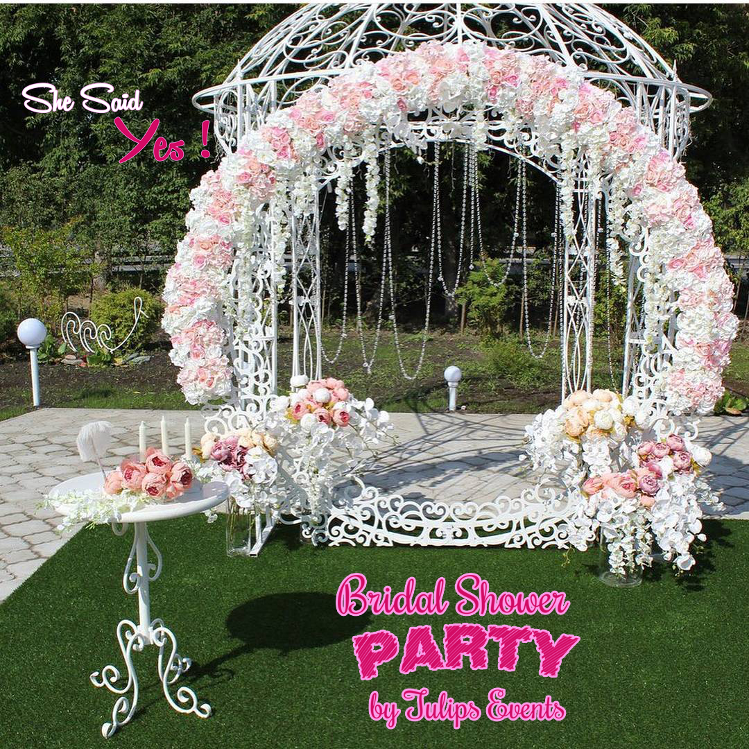 ce4f76d4979b 17 Best Bridal Shower Party Themes decor ideas in Pakistan - Tulips ...