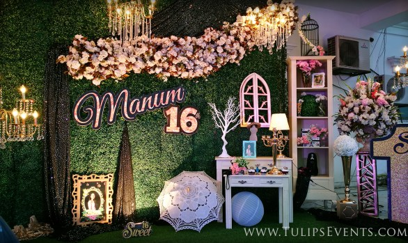 Sweet 16 Outdoor Theme Party