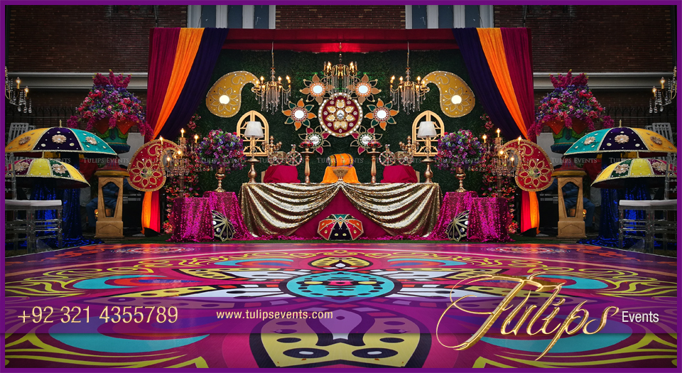 Mehndi Stage Design 2018 : Marriage wedding stage decorations background images of india