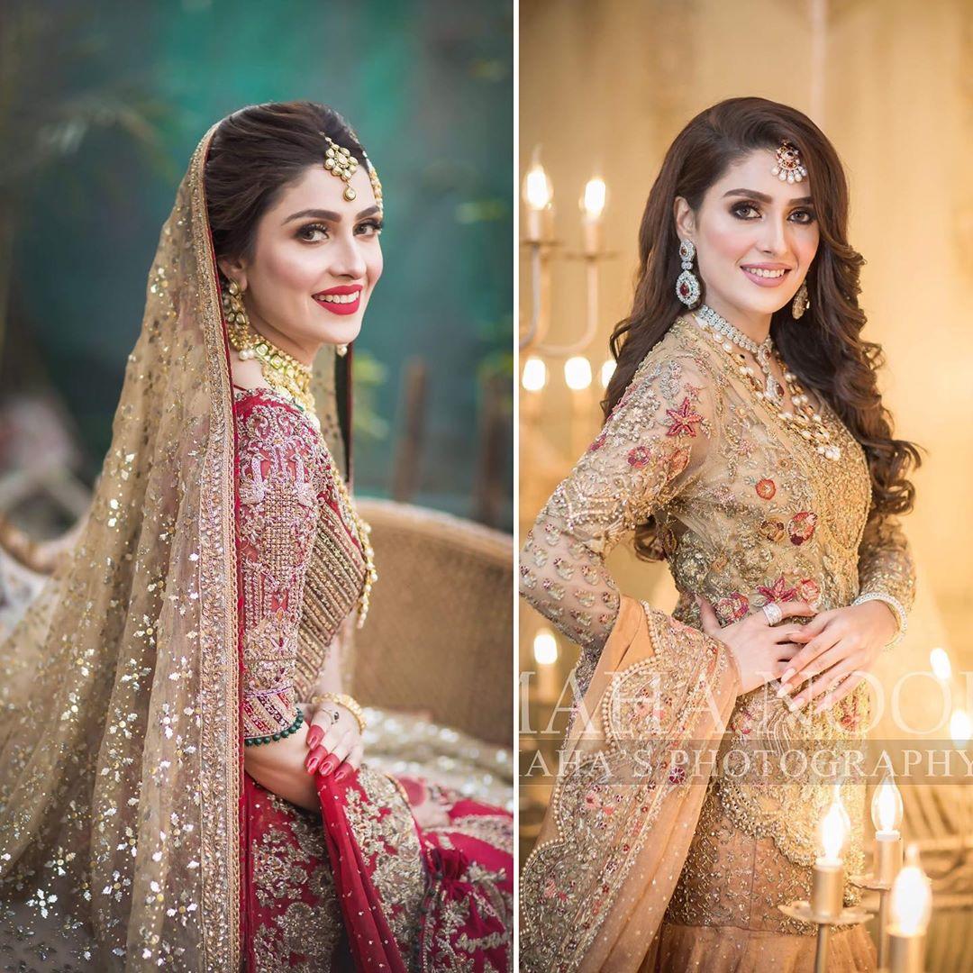 Stunning Latest Bridal Dresses 2020 Features Ayeza Khan In Pakistan,A Line Mermaid Wedding Dress