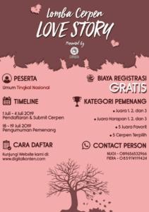 Lomba Cerpen Love Story 2019