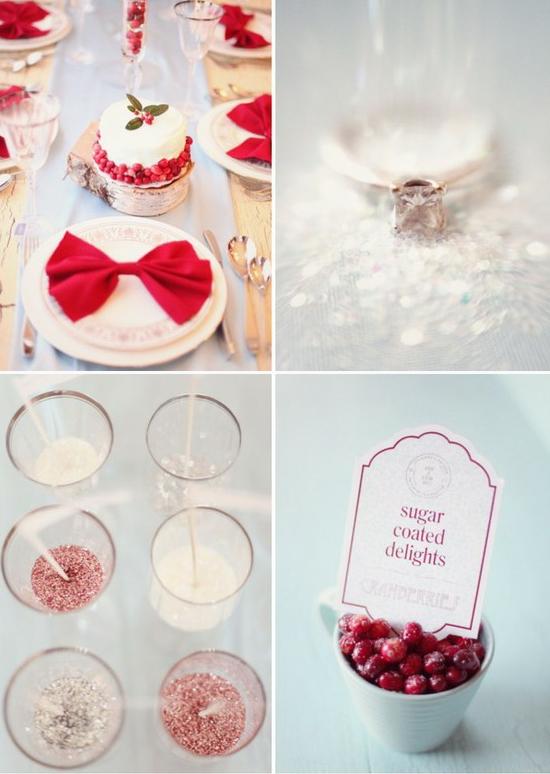 Christmas Wedding Decoration Tulle Amp Chantilly Wedding Blog