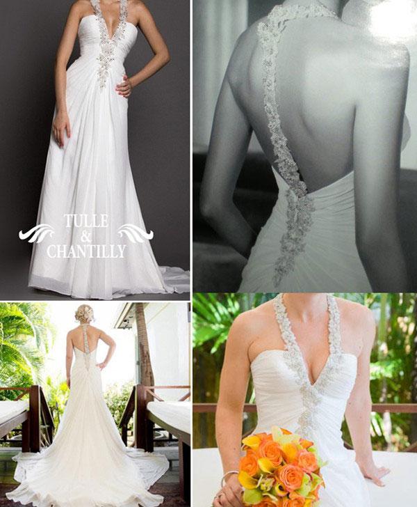 Beach Wedding Dresses Tulle Amp Chantilly Wedding Blog