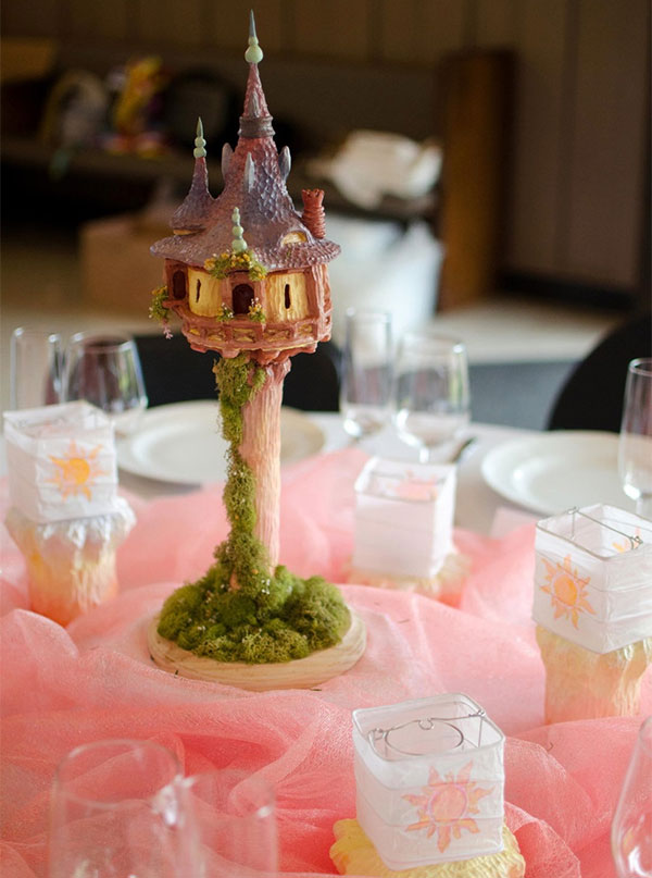 Tangled Wedding Decorations Tulle Amp Chantilly Wedding Blog
