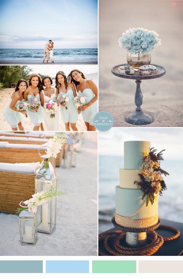 Beach Wedding Theme Colors