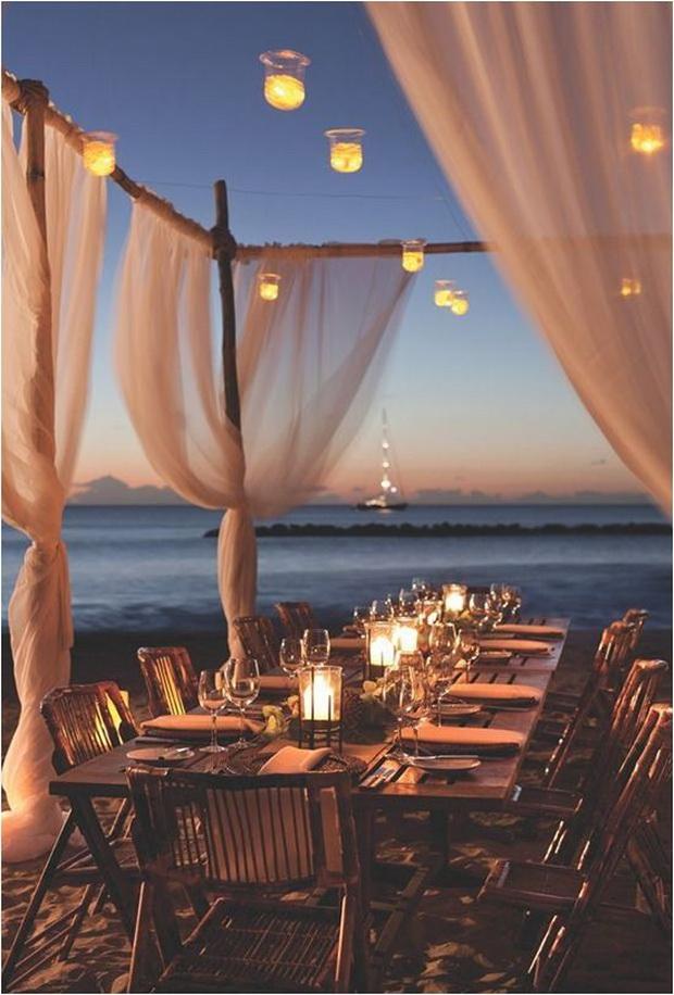 Small Beach Wedding Ideas
