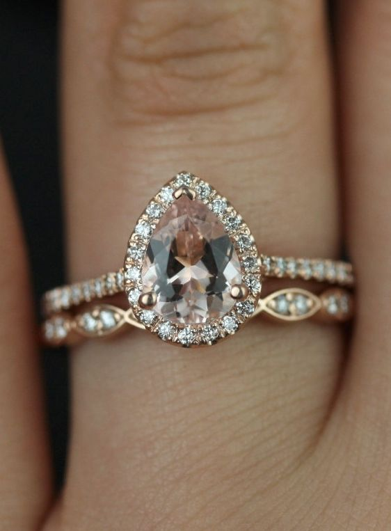 15 Stunning Rose Gold Wedding Engagement Rings That Melt