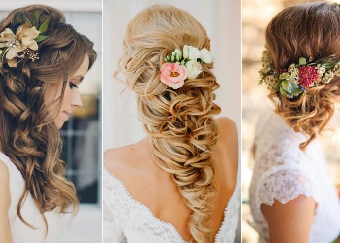 elegant wedding hairstyles half up half down tulleandchantilly