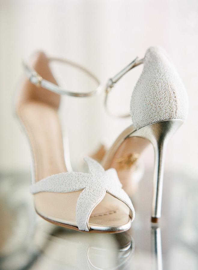 Sandália noiva