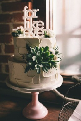 Top 25 Perfect Wedding Cake Topper Ideas   Tulle   Chantilly Wedding     script style for like ever wedding cake topper