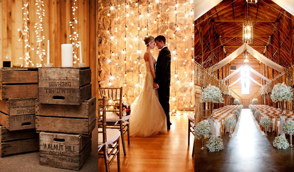 for those who prefer to have their favorite rustic wedding outside a barn wedding could be the perfect solution barn wedding theme is becoming more and