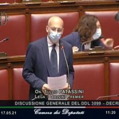 """PATASSINI (Lega): """"CON IL DL SOSTEGNI 32 MILIARDI PER IMPRESE, LAVORATORI E FAMIGLIE"""""""