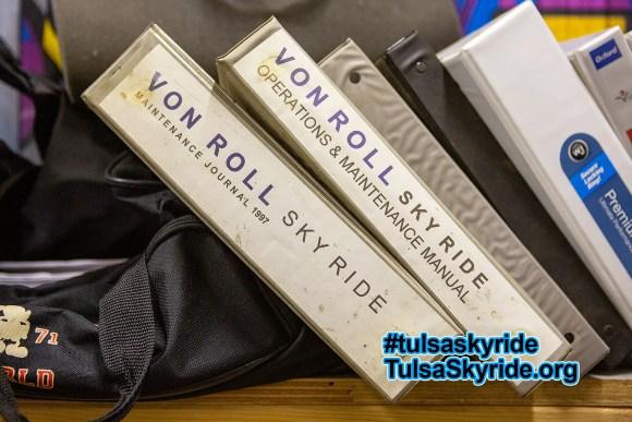 Tulsa Skyride: Von Roll maintenance manuals