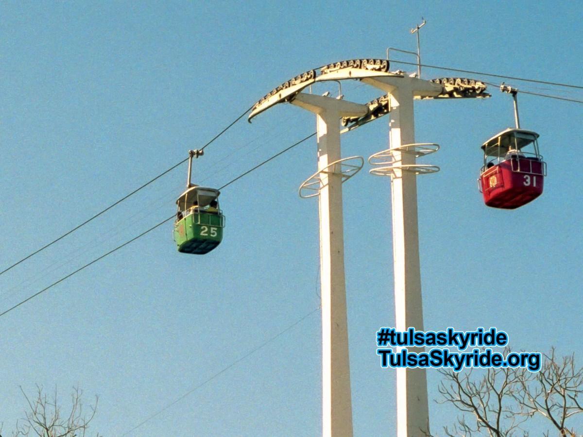 Much-missed Von Roll skyride at Brackenridge Park, San Antonio Zoo