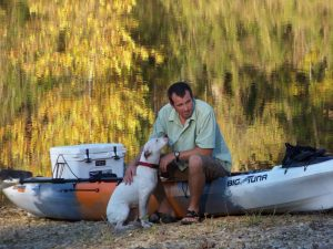 Dave Lindo, Owner of OKC Kayak & Tulsa Kayak Biologist • Conservationist Photo By Mark Edward Allen
