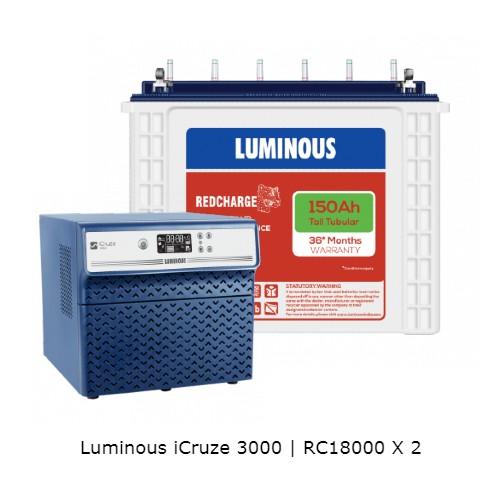 Luminous iCruze and Luminous RC18000