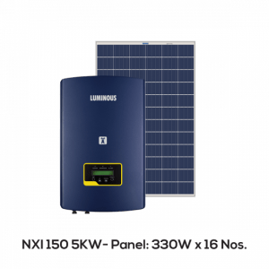 Luminous 5Kw On Grid Solar System