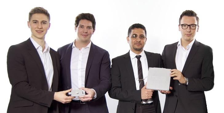 Das Gründerteam von KONUX
