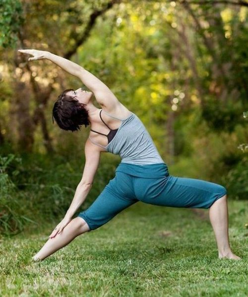 yoga pose for activity page