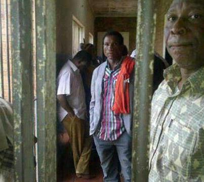 Picture: Nevers Mumba In Police Cells
